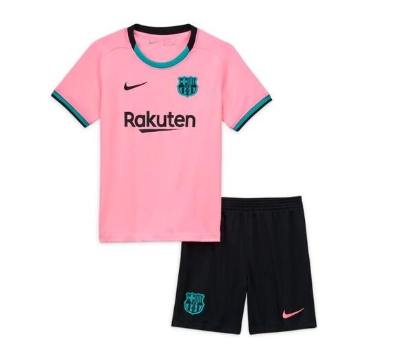 Барселона (Barcelona) детская резервная форма сезон 2020-2021